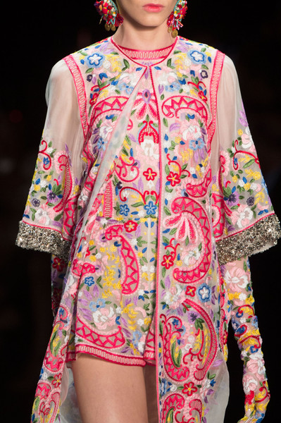 Naeem Khan at New York Spring 2016 (Details)