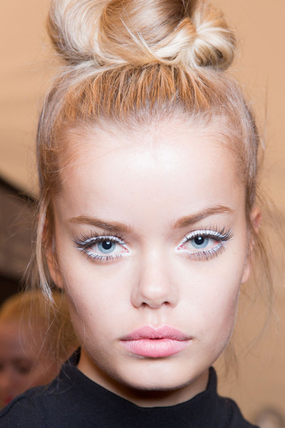 Nanette Lepore at New York Spring 2015 (Backstage) [hair,face,hairstyle,eyebrow,blond,chin,lip,beauty,forehead,cheek,nanette lepore,frida aasen,hairstyle,hair,fashion,model,runway,eyebrow,emerson salon,new york fashion week,frida aasen,emerson salon,new york fashion week,hairstyle,fashion,hair,model,runway,beauty parlour,artificial hair integrations]