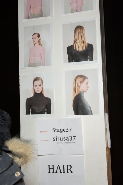 Narciso Rodriguez at New York Fall 2015 (Backstage) [art,text,text,design,room,photography,art,narciso rodriguez,fashion,pattern,meter,photography,design,room,new york fashion week,fashion,pattern,meter]