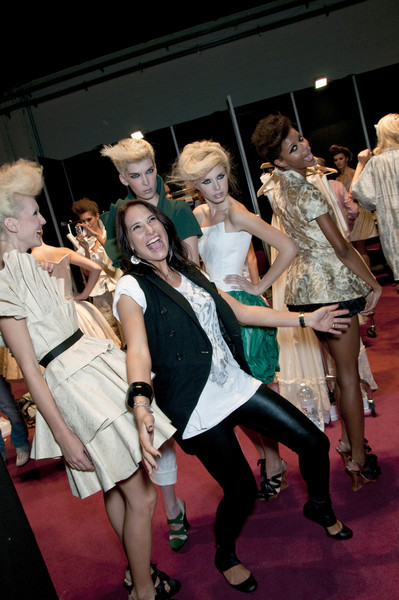 New Upc Des at Milan Spring 2010 (Backstage)