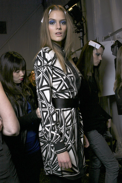 Nicole Miller at New York Fall 2009 (Backstage)