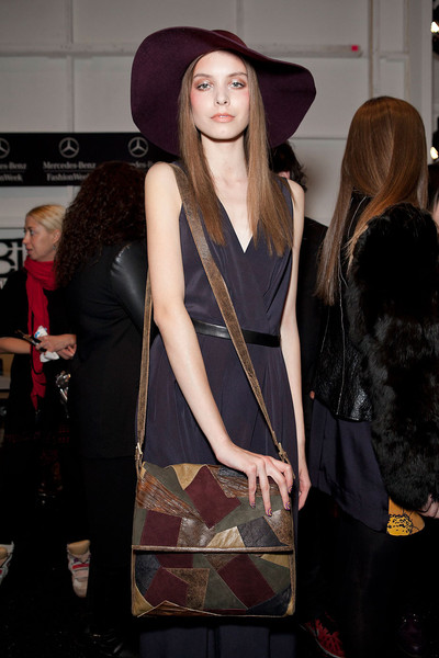 Nicole Miller at New York Fall 2012 (Backstage)