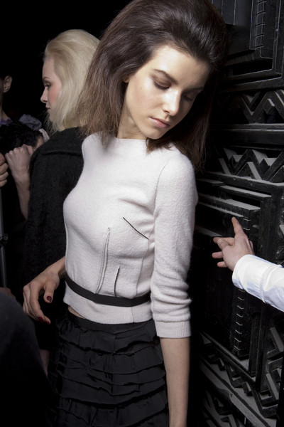 Nina Ricci at Paris Fall 2010 (Backstage)