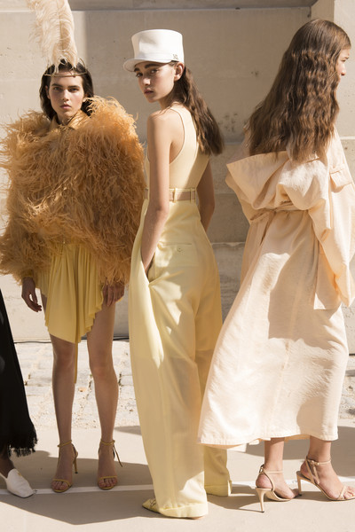Backstage at Nina Ricci