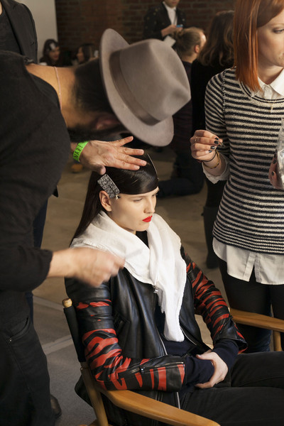Ohne Titel at New York Fall 2013 (Backstage)