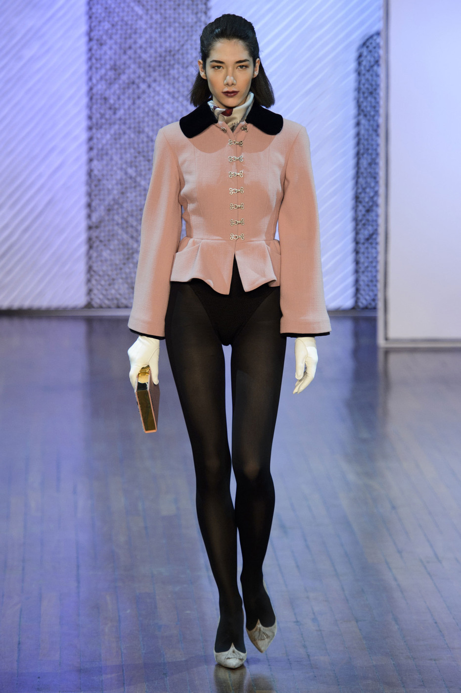Fashion week Fall le tan olympia runway review for woman