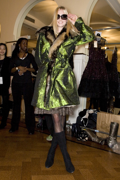 Oscar de la Renta at New York Fall 2008 (Backstage)