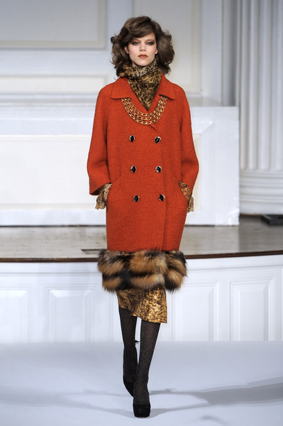 Oscar de la Renta at New York Fall 2010