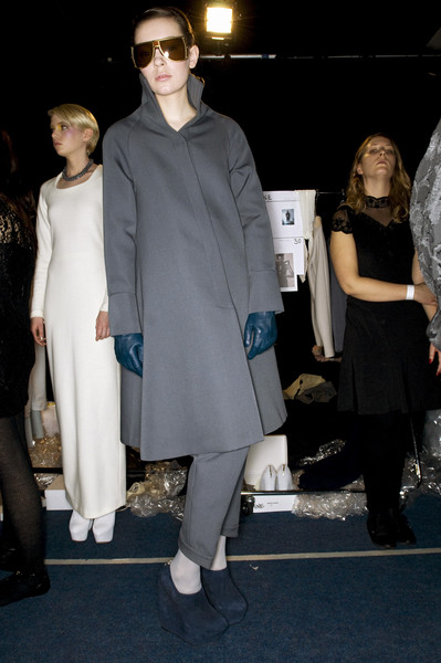 Osman Yousefzada at London Fall 2009 (Backstage)
