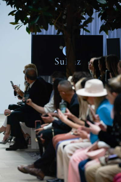 Oxford Fashion Studio at London Spring 2022 [hat,sun hat,tree,luggage and bags,bag,leisure,event,city,handbag,sitting,hat,hat,statistics,tree,luggage,leisure,oxford,fashion studio,london fashion week,event,event]