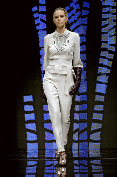 Paola Frani at Milan Fall 2007