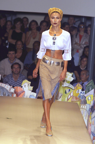 Patty Shelabarger at Milan Spring 2001