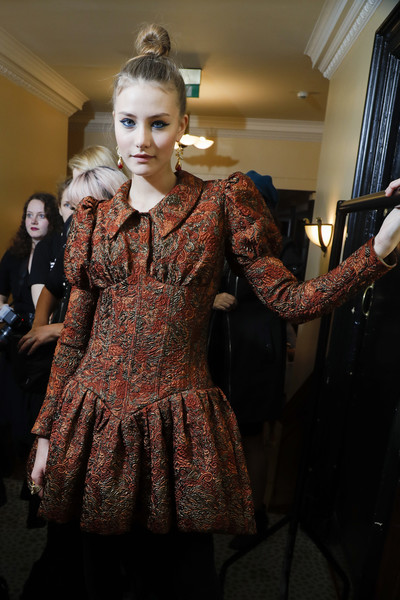 Paul Costelloe at London Fall 2019 (Backstage)