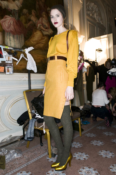Paul Smith at London Fall 2009 (Backstage)