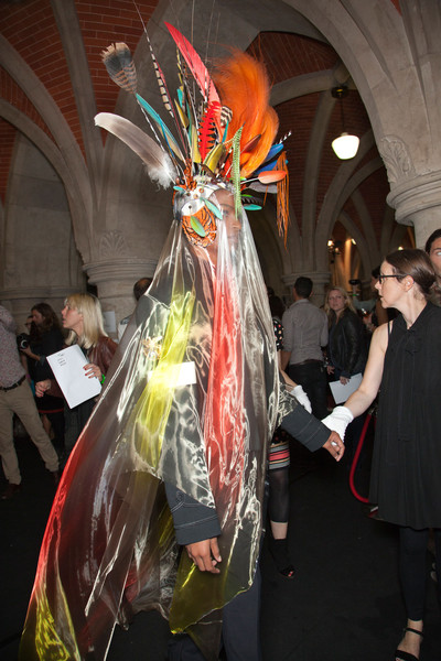 Philip Treacy at London Spring 2013 (Backstage)