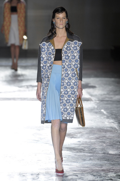 Prada at Milan Spring 2012