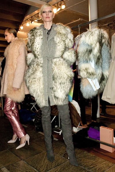 Preen at New York Fall 2009 (Backstage)