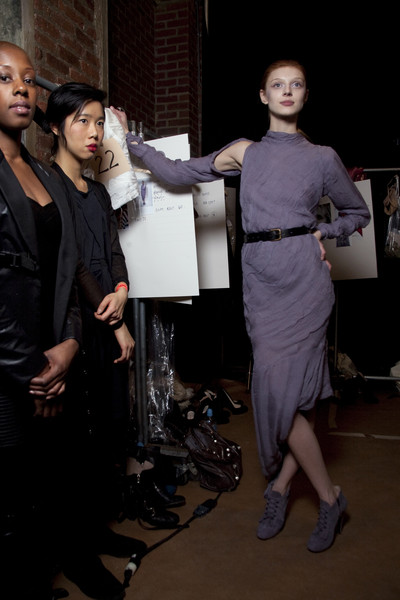 Preen at New York Fall 2010 (Backstage)