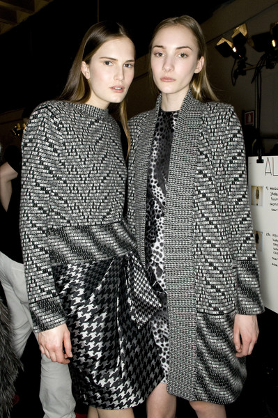 Pringle of Scotland at Milan Fall 2009 (Backstage)