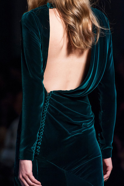Ralph & Russo at Couture Fall 2015 (Details) [clothing,shoulder,dress,teal,cocktail dress,turquoise,velvet,neck,aqua,joint,dress,evening gown,dress,gown,couture fall,clothing,wedding dress,haute couture,sleeve,ralph russo,evening gown,dress,wedding dress,gown,backless dress,sleeve,fashion,clothing,formal wear,haute couture]