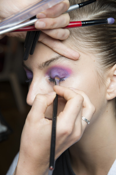 Ralph & Russo at Couture Fall 2018 (Backstage) [eyebrow,face,makeup artist,eyelash,skin,nose,cheek,beauty,eye,forehead,sports shoes,makeup artist,couture fall,beauty,eye shadow,attention,haute couture,eyelash,ralph russo,close-up,eye shadow,attention,ralph russo,week,sports shoes,beauty,haute couture,autumn,winter,close-up]