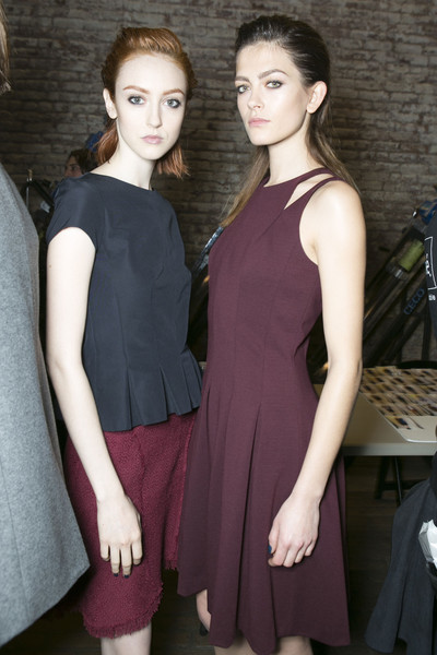Rebecca Taylor at New York Fall 2013 (Backstage)