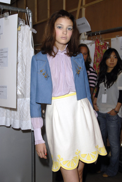 Rebecca Taylor at New York Spring 2007 (Backstage)