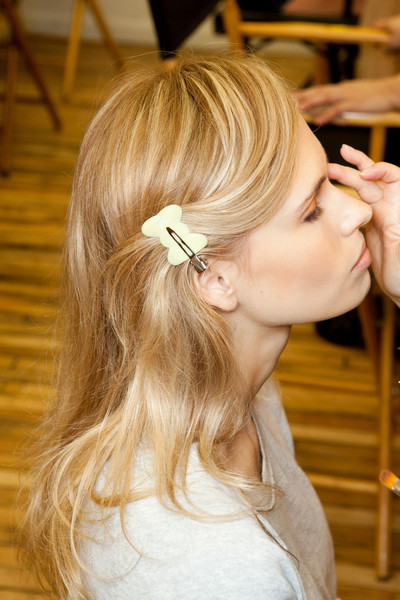 Rebecca Taylor at New York Spring 2013 (Backstage)