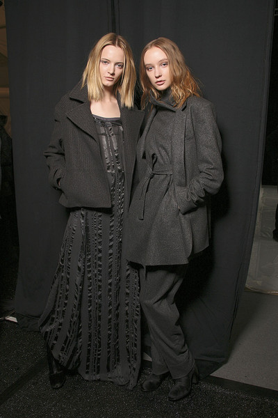 Richard Chai Love at New York Fall 2011 (Backstage)