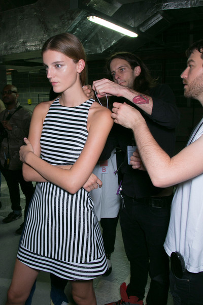 Richard Nicoll at London Spring 2014 (Backstage)