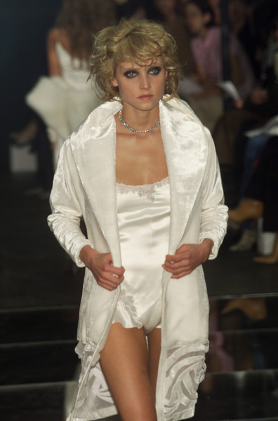 Richard Tyler at New York Fall 2001