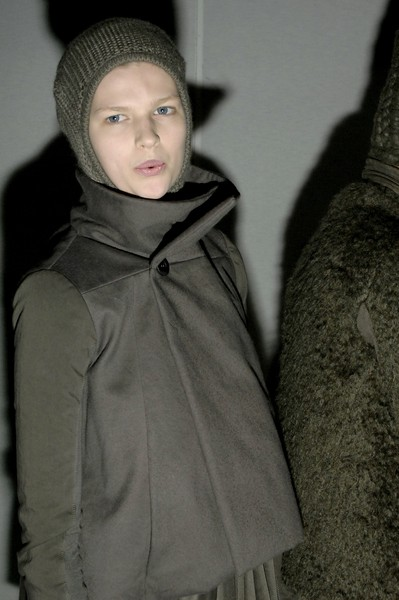 Rick Owens at Paris Fall 2007 (Backstage)