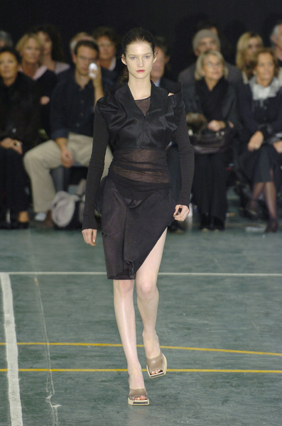 Rick Owens at Paris Spring 2005