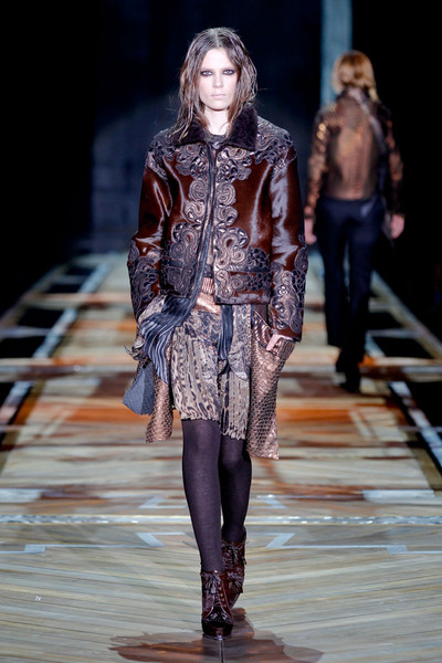 Roberto Cavalli at Milan Fall 2011