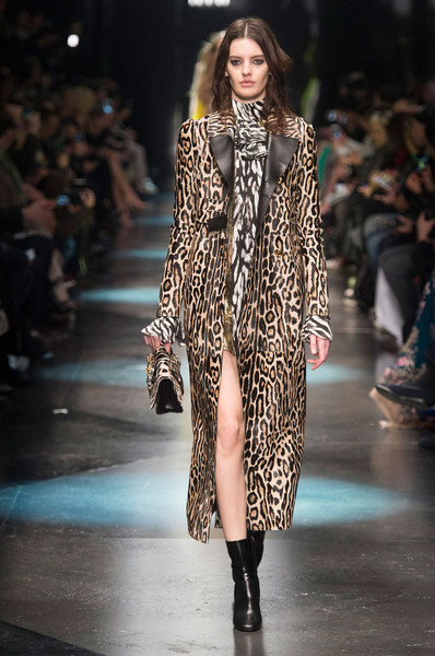 Roberto Cavalli at Milan Fall 2015