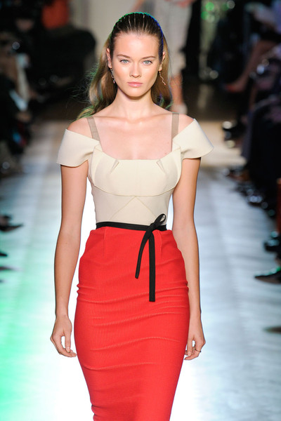 Roland Mouret at Paris Spring 2012