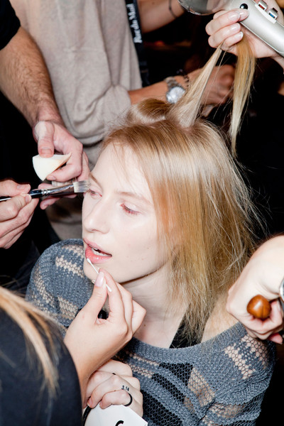 Rue du Mail at Paris Spring 2013 (Backstage)