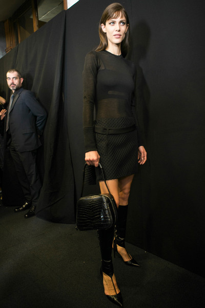 Salvatore Ferragamo at Milan Fall 2013 (Backstage)