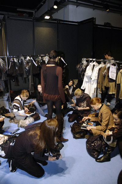 Shirt Passion at Milan Fall 2007 (Backstage)