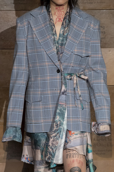 Snow Xue Gao at New York Fall 2019 (Details)