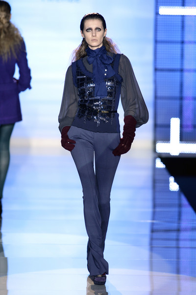 Sonia Fortuna at Milan Fall 2008