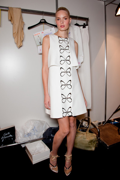 Sportmax at Milan Spring 2011 (Backstage)