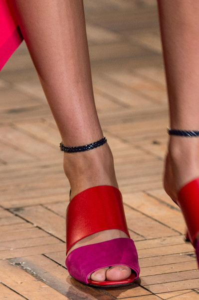 Sportmax at Milan Spring 2017 (Details) [footwear,leg,human leg,red,sandal,ankle,toe,pink,foot,high heels,shoe,shoe,footwear,toe,heel,leg,calf,sandal,sportmax,milan fashion week,toe,shoe,high-heeled shoe,calf,sandal,heel]