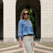 Crisp Trousers and Chambray