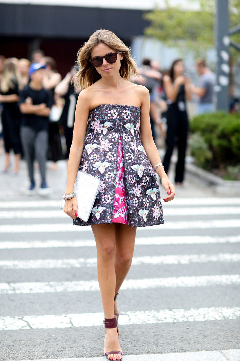 Girly Girl Best Street Style From New York Fashion Week Spring 2015 Livingly