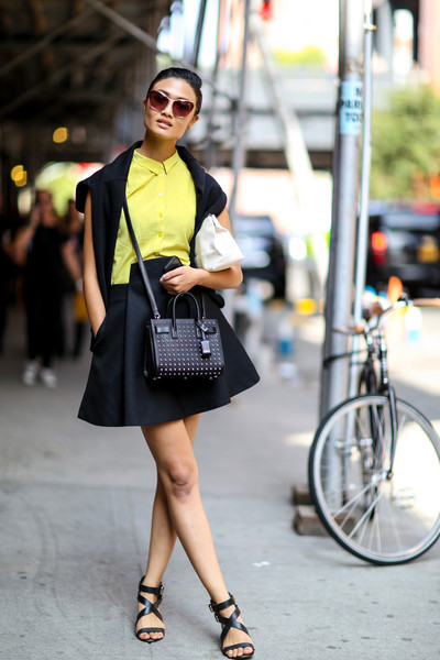 Black and Lime