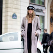 Anna Dello Russo's Newsboy Cap and Coat