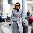 Statement Plaid Coat