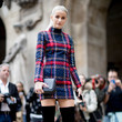 A Plaid Mini Dress