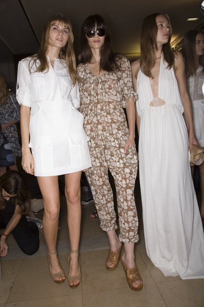 Stella McCartney at Paris Spring 2008 (Backstage)